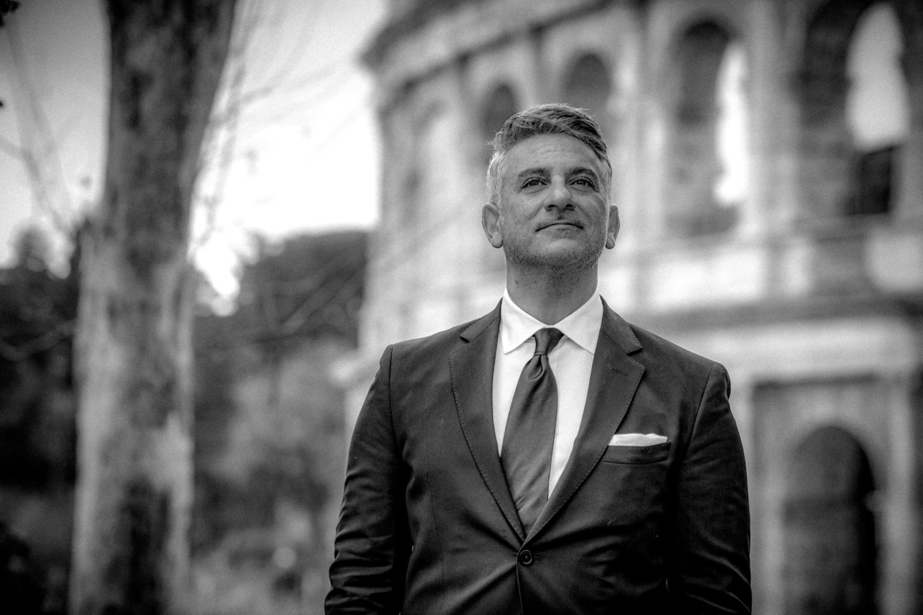 Ivan Luminaria, Servizio fotografico di Ritratto